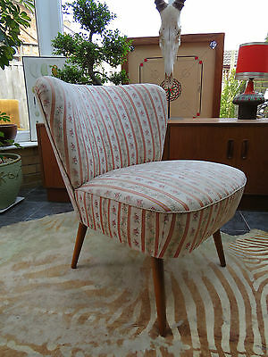 A Vintage East German Bartholomew Cocktail Chair C1965 Good Condition A16/43
