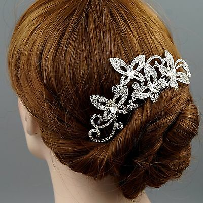 Bridal Hair Comb Crystal Headpiece Hair Clip Hair Pin Wedding Accessories 07241