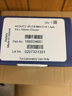 ACQUITY UPLC BEH C18,1.7 µm, 3.0 mm X 100 mm Column