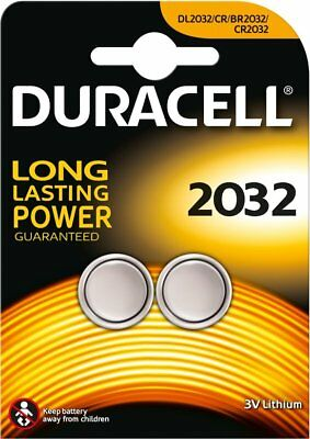 6 x Duracell CR2032 3V Lithium Coin Cell Batteries- Best Before 2025- NEW