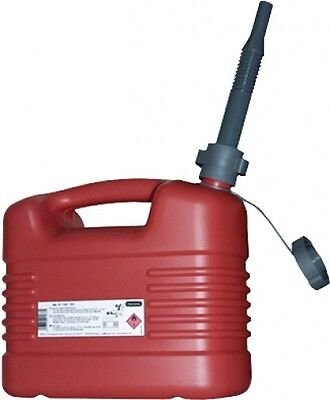 Canister Fuel canister 10l red Spare jcanister Jerry can Car accessories
