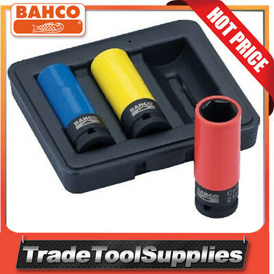 Bahco 3 Piece Wheel Socket Set BWSS12P3