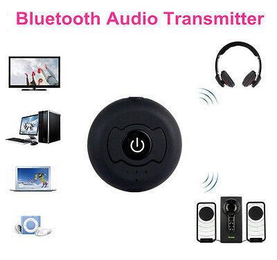 3.5mm A2DP Bluetooth Wireless Stereo Music Transmitter Audio Adapter for TV PC