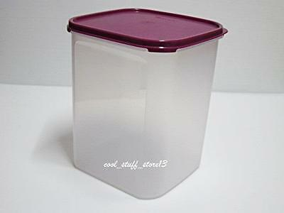 New Tupperware Modular Mates Mm Square Iv (5.5L) With Purple Seal