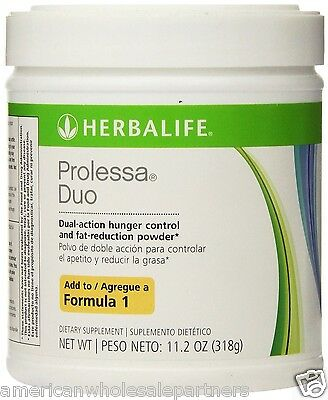 NEW HERBALIFE PROLESSA DUO LARGE 30-DAY PROGRAM 11.2 OZ Free USA Ship! INTL Ship