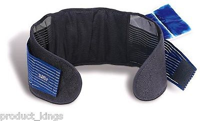 HoMedics Magnetic Support  Hot & Cold Therapy Relief  Back Brace Belt Pain