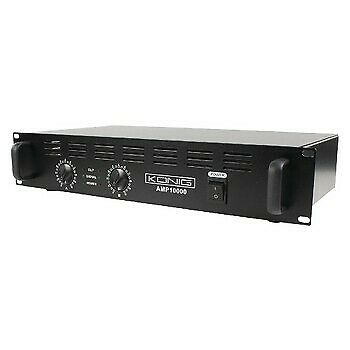 Amplificatore audio PA KÖNIG 2×500 Watt