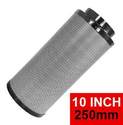 10 Inch / 250mm Hydroponics Activated Carbon Filter
