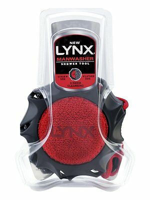 Lynx Manwasher Shower Tool