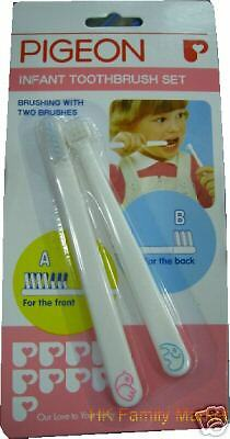 Japanese Pigeon Baby Infant Toothbrush Set