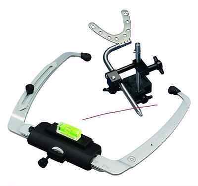 Denar Slidematic Facebow 200011-6 Whip Mix denture lab articulator 3 jigs dental