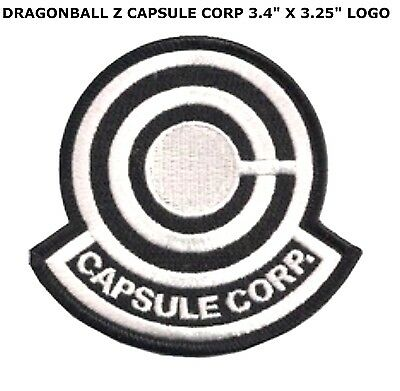 Dragon Ball Z Capsule corporation Logo embroidered Iron on Patch US Seller