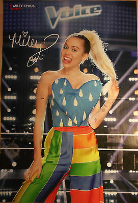 1 german poster MILEY CYRUS NOT SHIRTLESS LIVE SINGER BOY GIRL BAND BOYS BRAVO