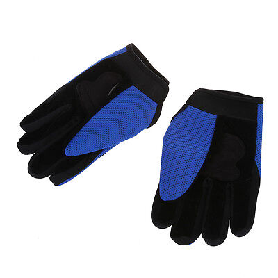 Pair Bicycle Bike Cycling Motorcycle Full Finger Gloves FP5