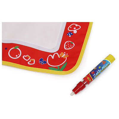 Baby 4 color Water Drawing Toys Mat Magic Pen Water Drawing Board FP5