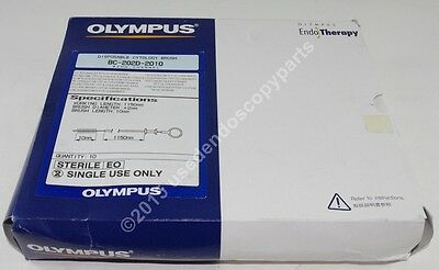 BC-202D-2010, Disposable Cytology Brush, Olympus EndoTherapy, 10pcs/pkg