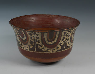 Pre Columbian ancient South America  Nazca bowl