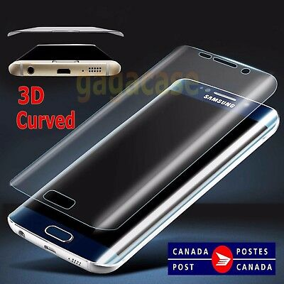 Super Thin PET Full Cover 3D Curved Screen Protector For Samsung Galaxy S7 Edge
