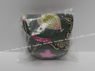 1 - Pacifier Pod - OLIVIA PINK - 100% Authentic - Vera Bradley - NWT Case Holder