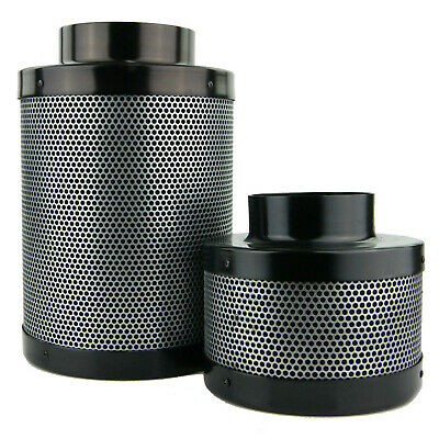 "Hydroponics Air Activated Carbon Filter -Available in (4"" 6"" 8 ""10"" 12"") Odour!"