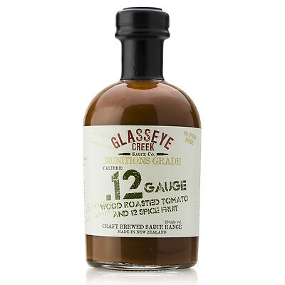 NEW Glasseye Creek Wood Roasted Tomato & 12 Spice Sauce 250ml