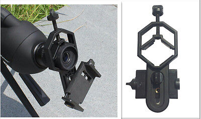 Spotting Scope Astronomical Telescope Universal Stand Mount for Cell Phone