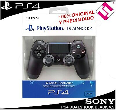 Mando Ps4 Dualshock Color Negro V.2 Playstation 4 Precintado Oferta Top Ventas