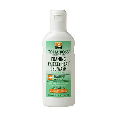 Rona Ross Prickly Heat Foaming Gel Wash (160ml) | FREE Express P&P