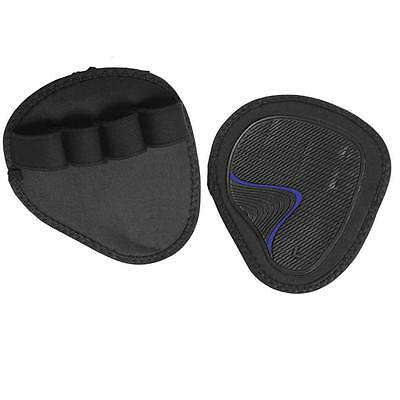 Weight Lifting Gym Grips Pads Hand Training Bar Straps Wrap Gloves