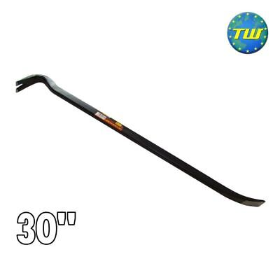 "30"" Steel Board Lifting Swan Neck Strong Arm Tool Builders Crow Bar Wrecking DIY"