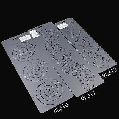 Acrylic Quilting Template Quilt Tools Line Pressing Spiral Love Tracing Creating