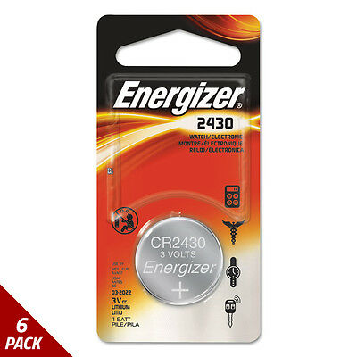 Energizer Watch/Electronic/Specialty Battery ECR2430BP [6 PACK]