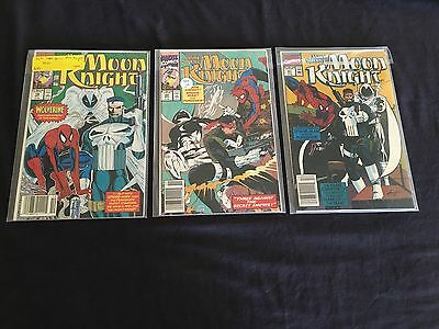 1990 Moon Knight 19 20 21 NRMT Lot