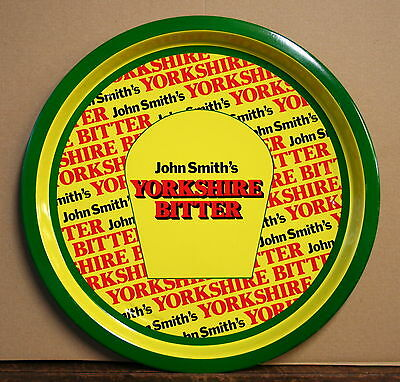 YORKSHIRE BITTER Vintage 1970's Advertising Pub Bar Beer drinks tray Retro