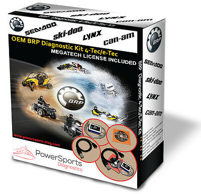 BRP Diagnostic Kit BUDS / BUDS2 MPI-3 4TEC/ETEC for SEADOO SKIDOO CANAM LYNX