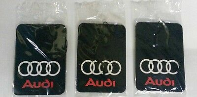 AUDI A1,A2,A3,A4,A5,A6,A7,A8,TT,Q3,Q5,Q7 ** Car Air Freshener **Deal 3 for £5.49