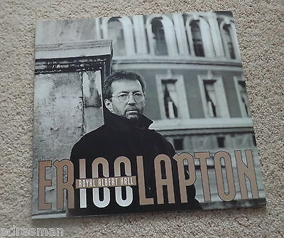""" Eric Clapton At The Albert Hall "" 1994  Concert  Programme."