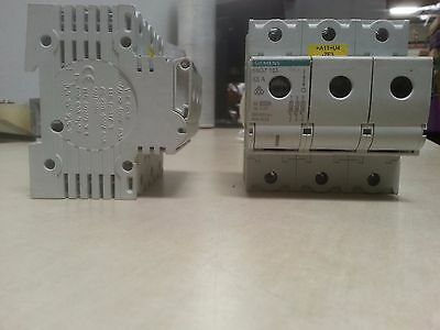 LOT OF 2! Siemens 5SG7 133 63A 3pole fuse