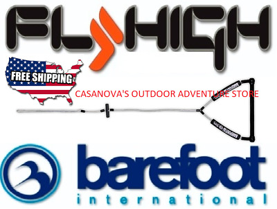 BFI BAREFOOT INTERNATIONAL FLY HIGH WAKEBOARD 100/' POLY E PLUS LINE ROPE B227