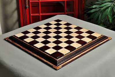 Signature Contemporary Chess Board - AFRICAN PALISANDER  / BIRD'S EYE MAPLE - 2.