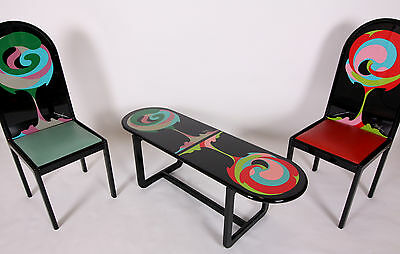 ROSENTHAL Kunst Möbel  PSYCHEDELIC  COFFEE TABLE TISCH