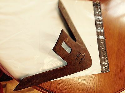 14 1/4x11 Cultivator Plow Point Sweep Rustic Farm Decor Antique rusty Metal