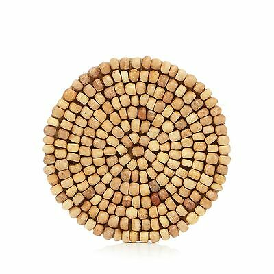 Rjr.John Rocha Pack Of 4 Brown Beaded Coasters From Debenhams