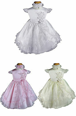 Baby Girls Christening Birthday Party Flower Girl Wedding Easter Dress A128