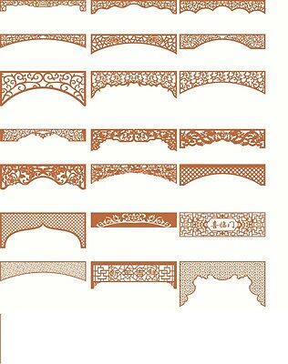 DXF CDR and EPS File For CNC Plasma, Laser Cut or CNC  Router   Lot 21 files
