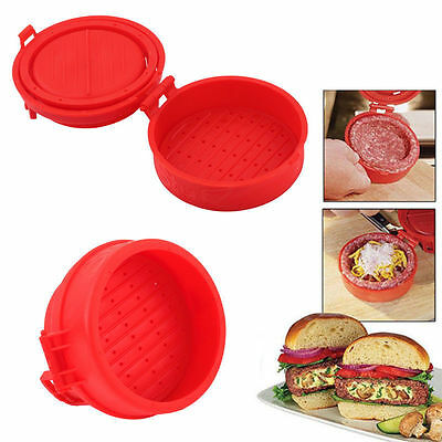 Stuffed Burger Press Maker Hamburger Grill BBQ Patty