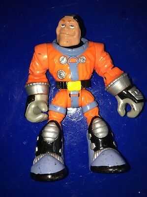 Rescue Heroes  Launch Force Roger Houston 78192 Action Figure