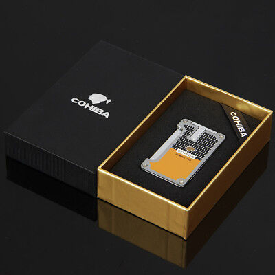 Cohiba Classic Torch Jet Flame Cigar Cigarette lighter With 2 Punch