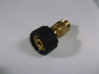 New M22/14mm Male X m22/15mm Female Pressure Washer Adaptor For RAC Lavor etc