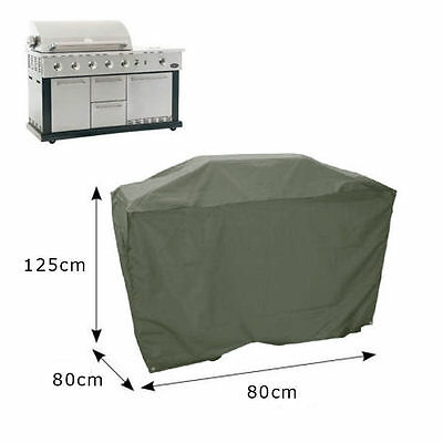 New Large Weather Resistant Polyester Barbecue BBQ Cover 80cm x 80cm x 125cm Uk